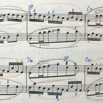 バッハ 平均律クラヴィーア曲集 2巻 ニ短調 前奏曲 楽譜