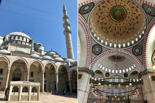 スレイマニエ・モスク(トルコ)