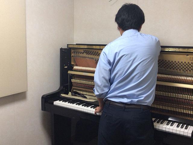 ピアノを調律