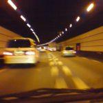 東名高速のトンネル