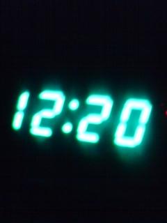 自動車の時計