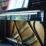 実家のアップライトピアノ