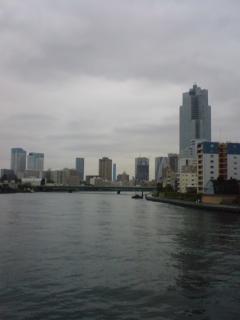 隅田川の川辺