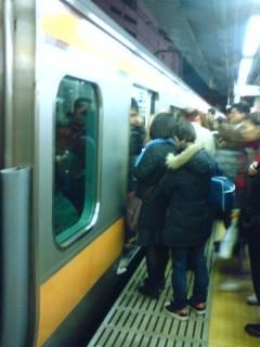 新宿駅中央線ホーム