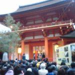 春日大社初詣