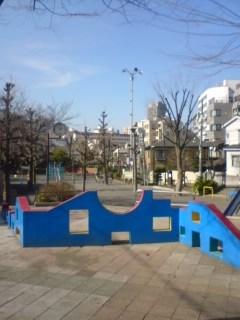 ポカポカ陽気の公園