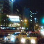 夜の市ヶ谷