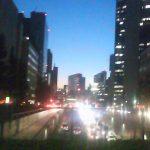 渋谷の夕景