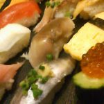 お寿司のランチ