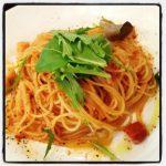 貝柱のスパゲティー